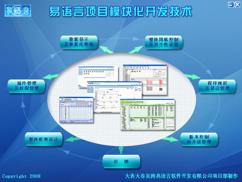 易语言项目模块化开发技术